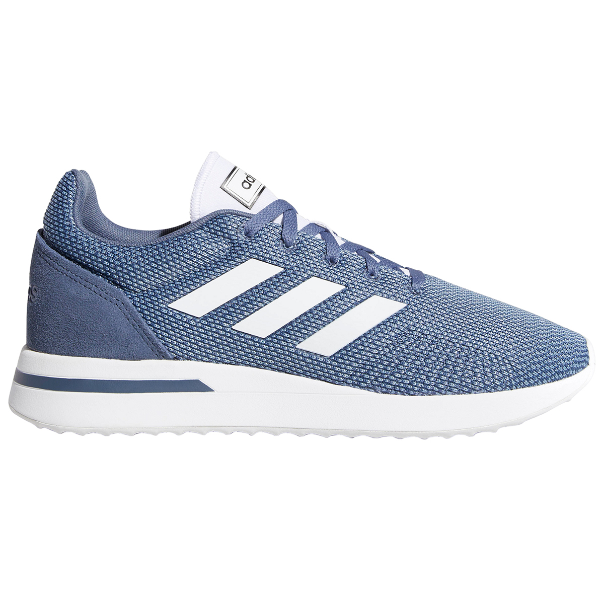 Adidas Men's Run 70S Running Shoes - Blue, 12