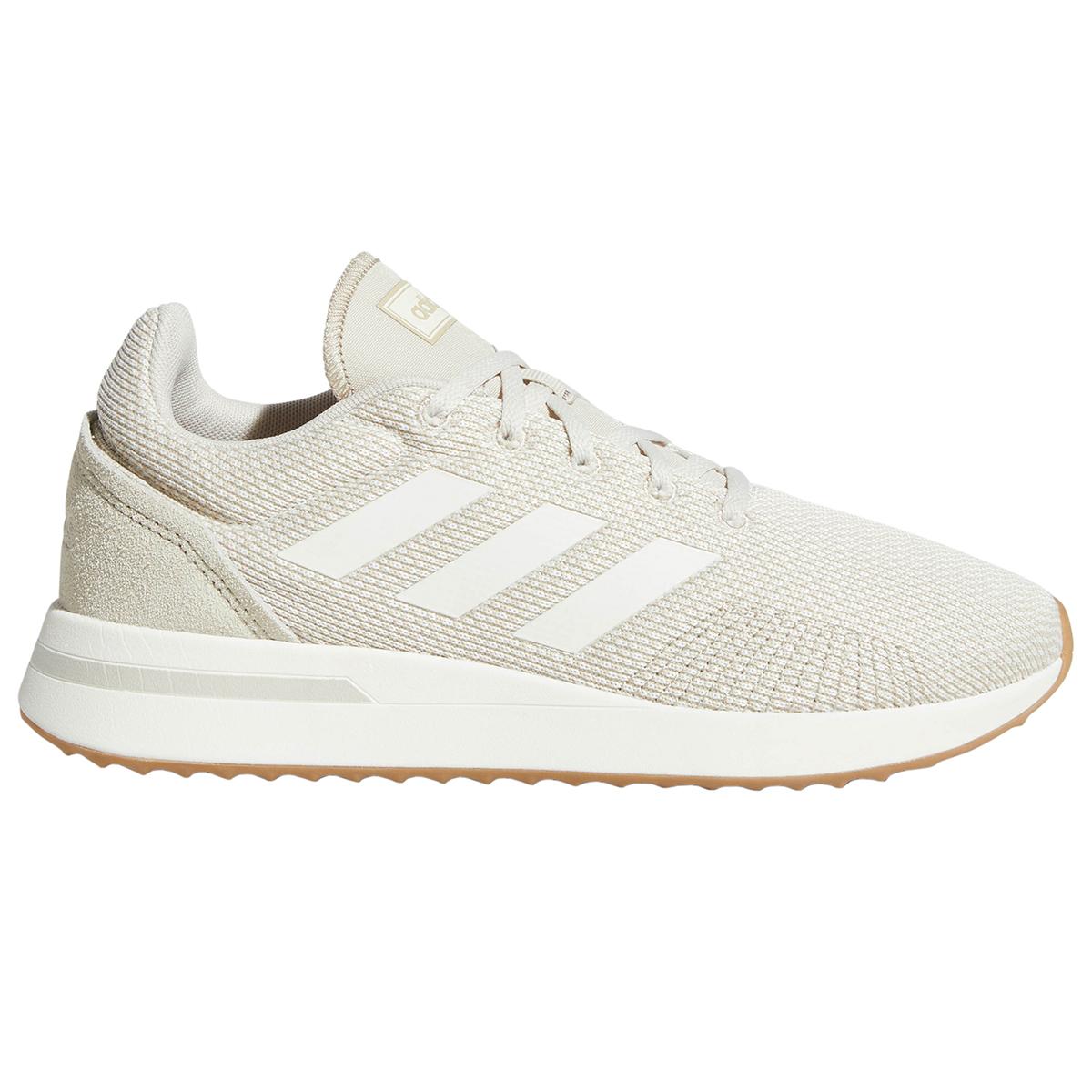 Adidas Women's Essentials Run 70S Running Shoes - Brown, 8