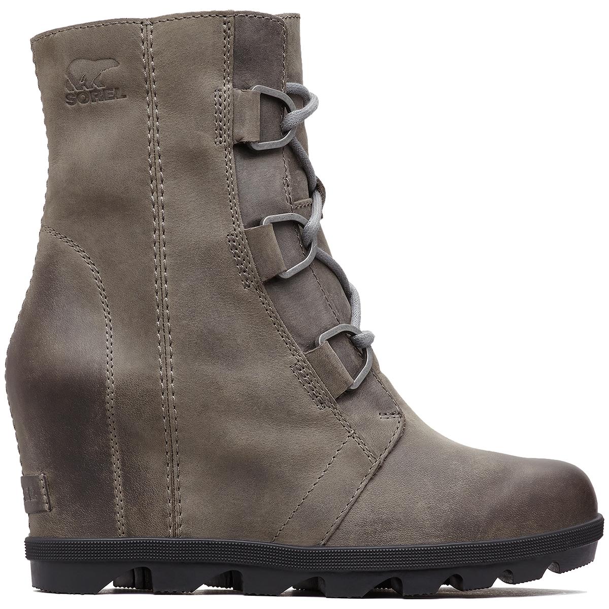 Sorel Women's Joan Of Arctic Wedge Ii Waterproof Boots - Black, 8.5