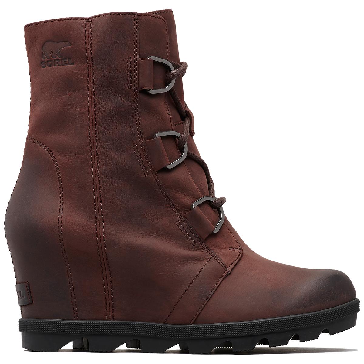 Sorel Women's Joan Of Arctic Wedge Ii Waterproof Boots - Red, 9