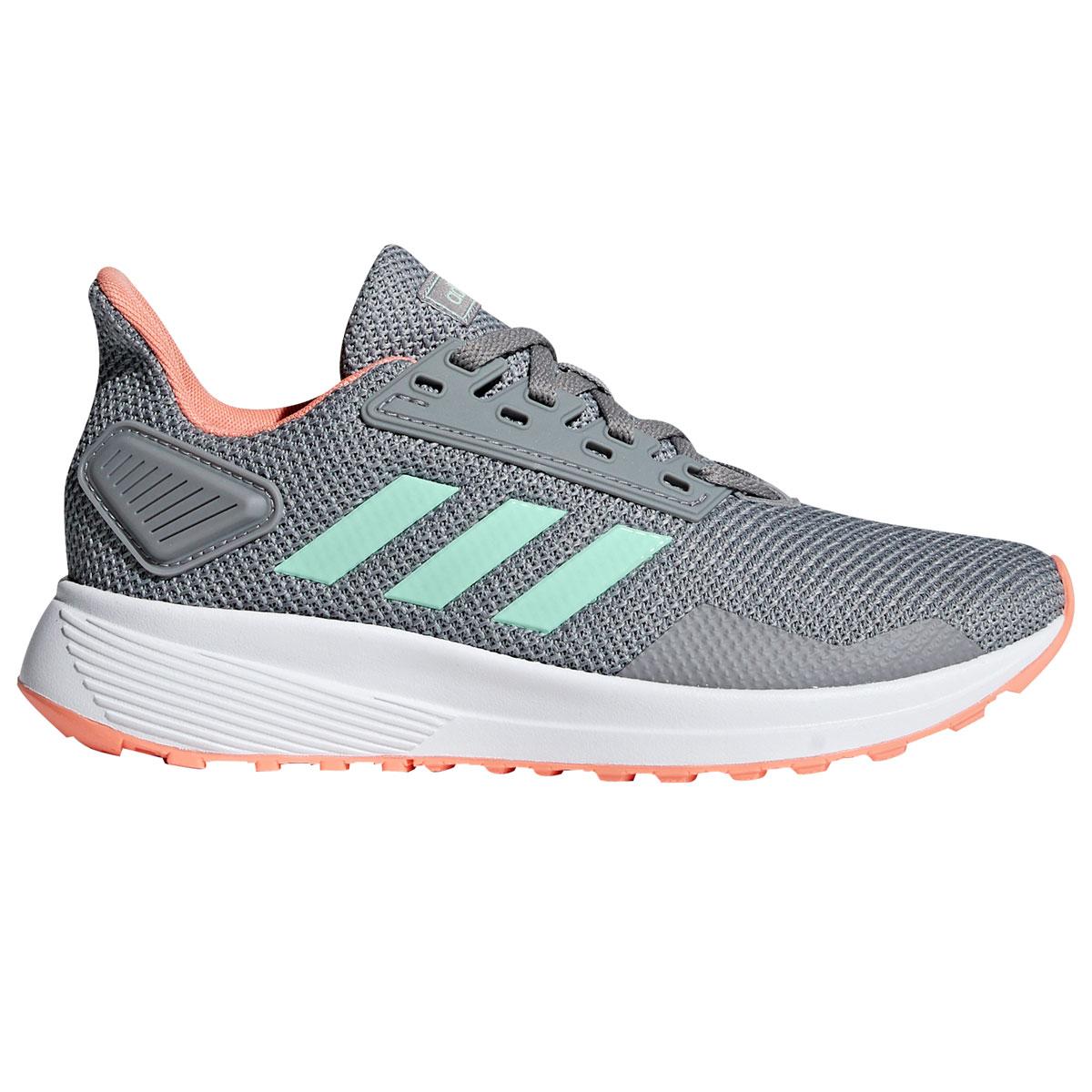Adidas Little Girls' Duramo 9 Sneakers - Black, 5.5