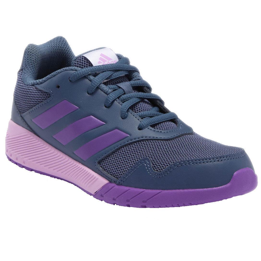 Adidas Little Girls Altarun Sneakers - Blue, 3.5