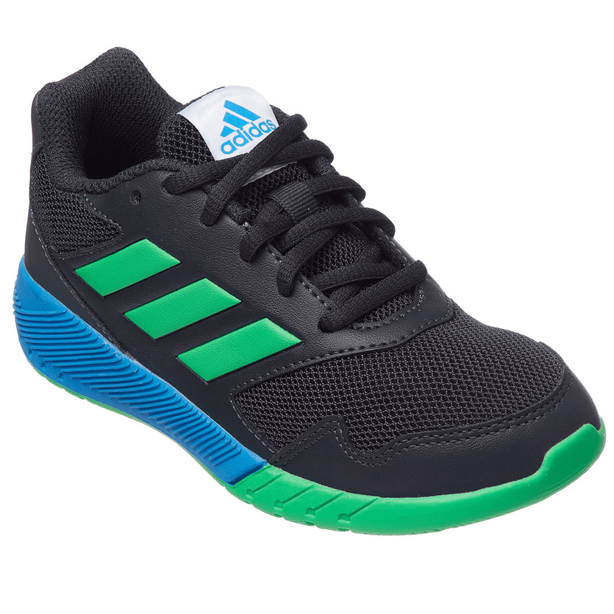 Adidas Boys' Altarun Running Shoes - Black, 4.5