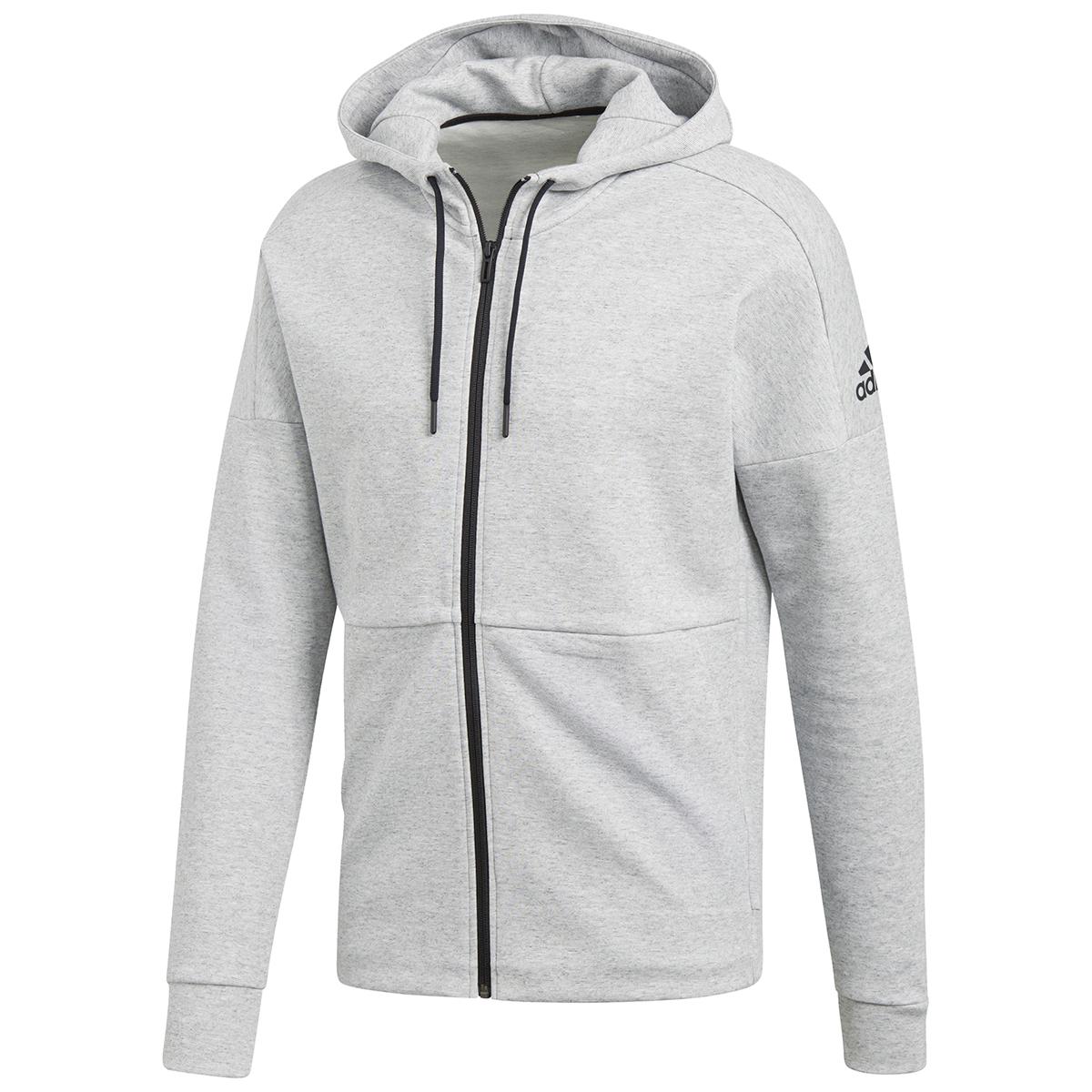 Adidas Men's Id Stadium Full-Zip Hoodie - Black, L