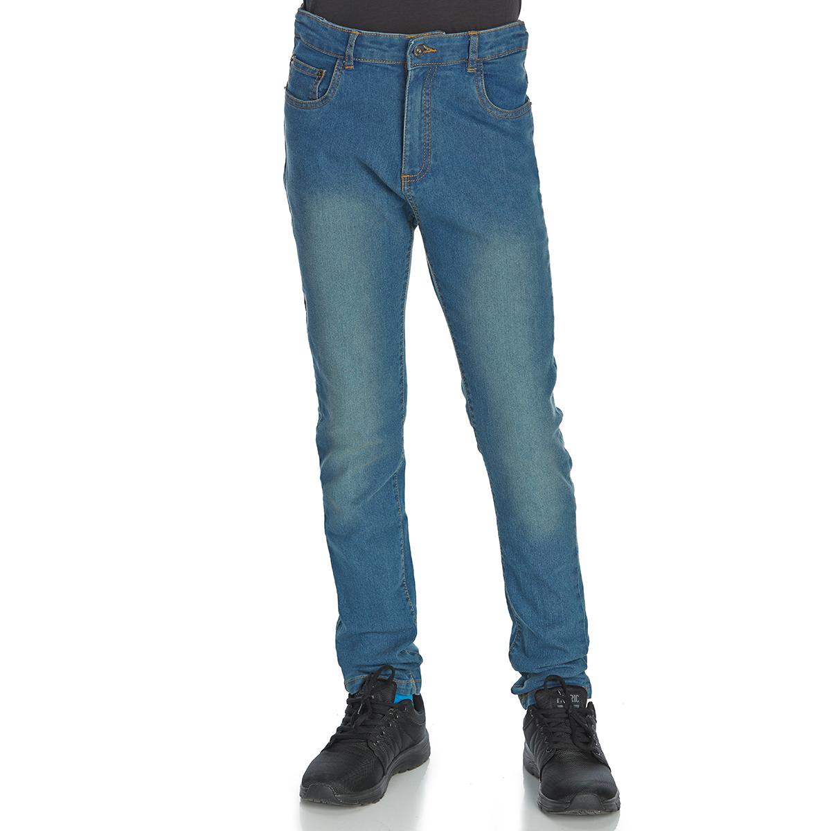 Minoti Big Boys' Skinny Denim Jeans - Blue, 9-10