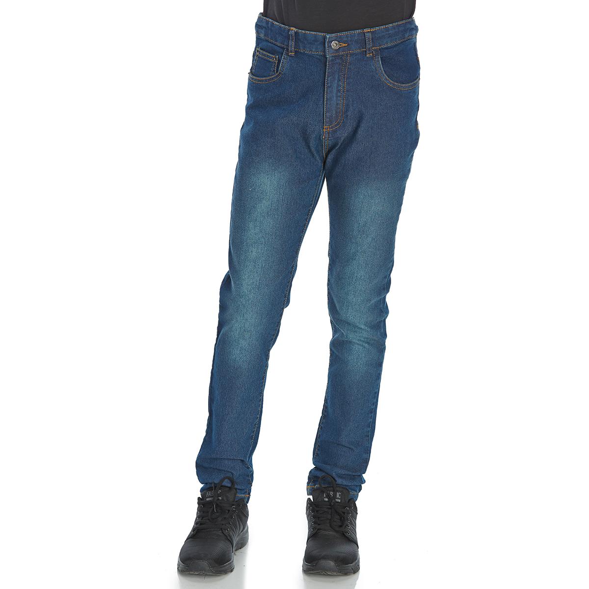 Minoti Big Boys' Skinny Denim Jeans - Blue, 8-9