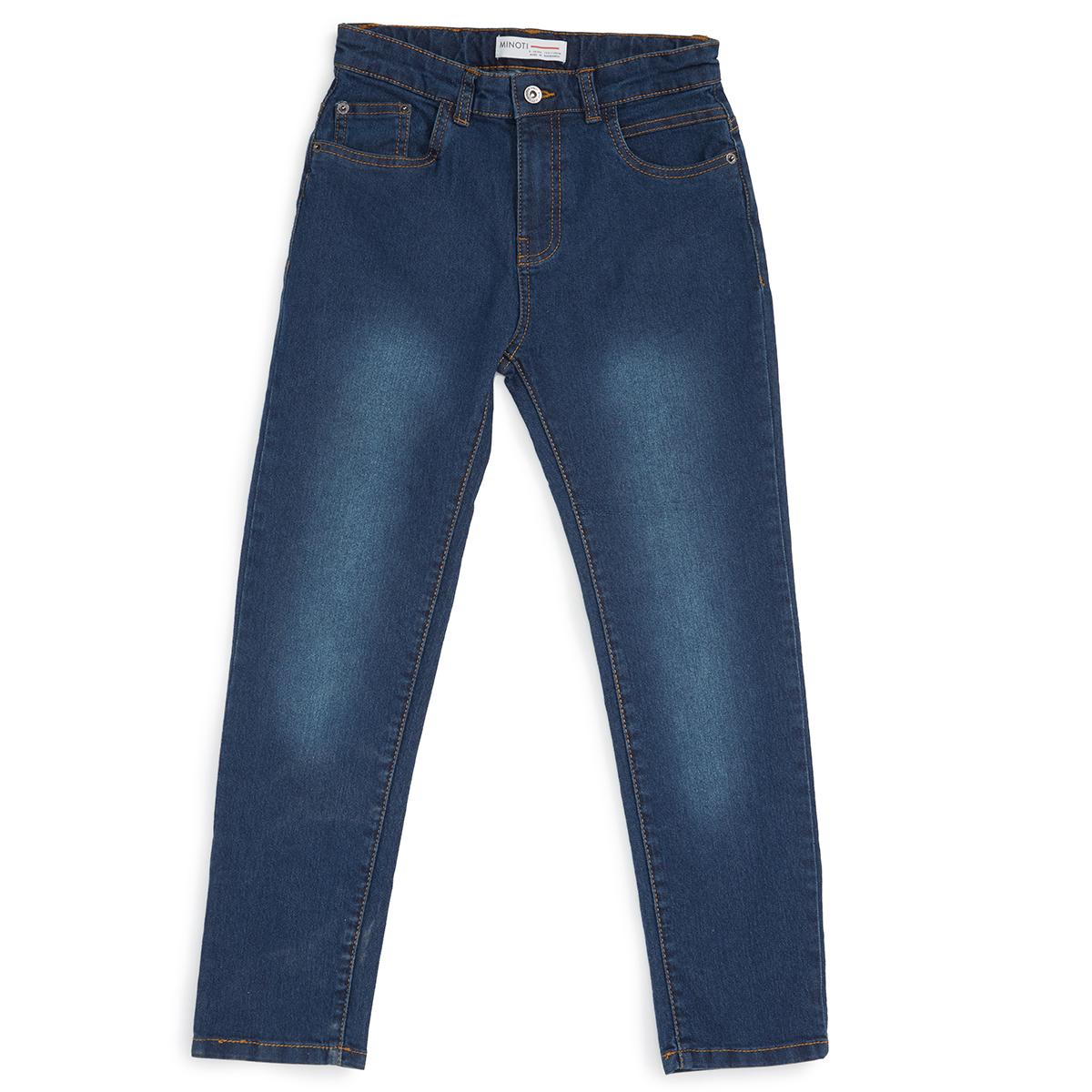 Minoti Big Boys' Regular Denim Jeans - Blue, 8-9