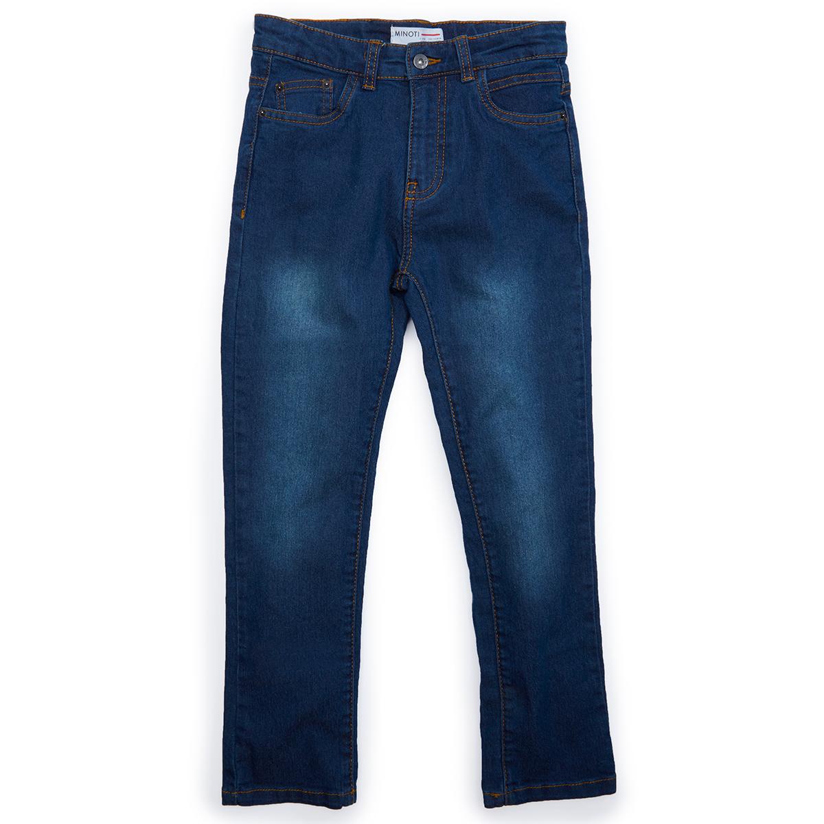 Minoti Little Boys' Denim Jeans - Blue, 7-8X