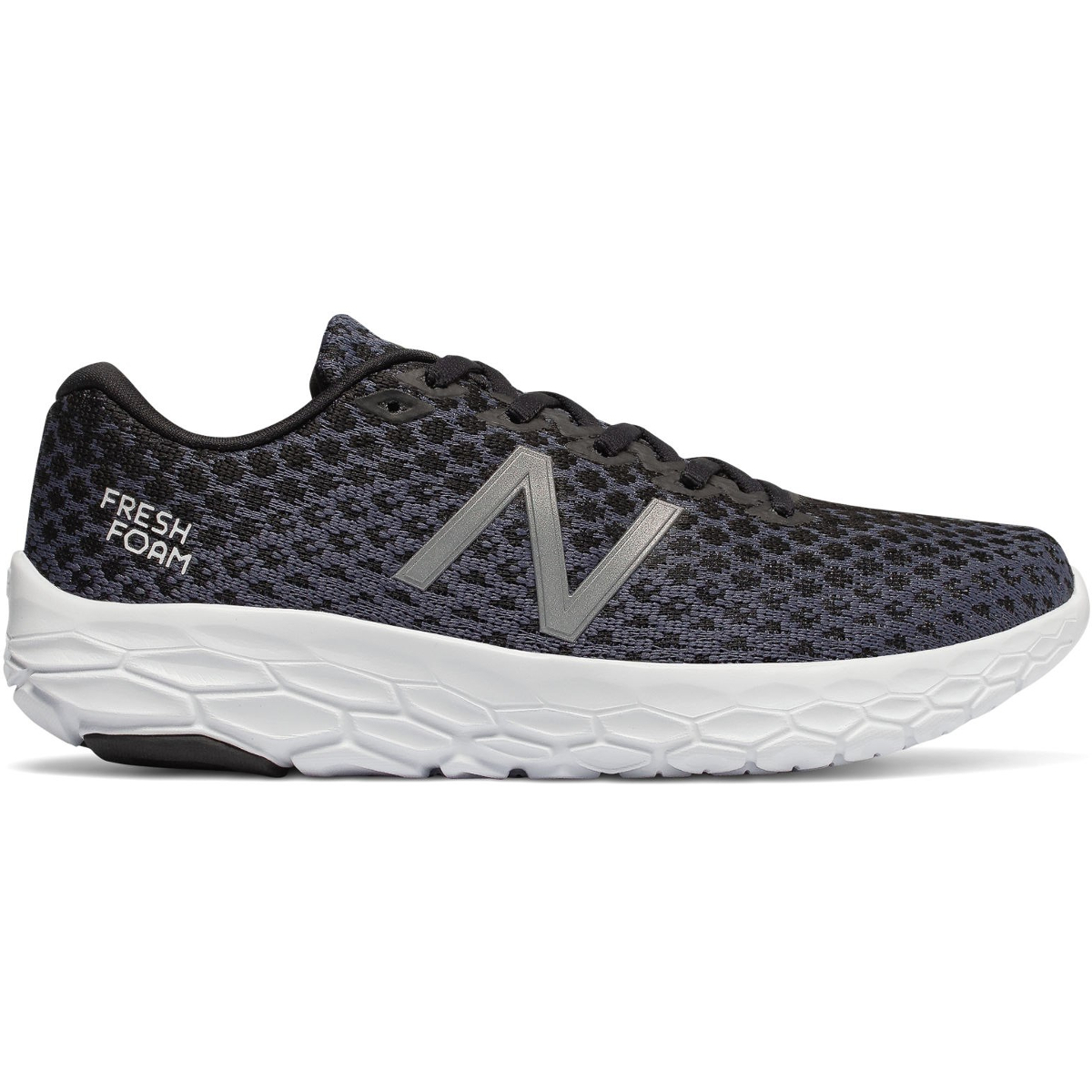 New Balance Women's Fresh Foam Beacon Running Shoes - Black, 8.5