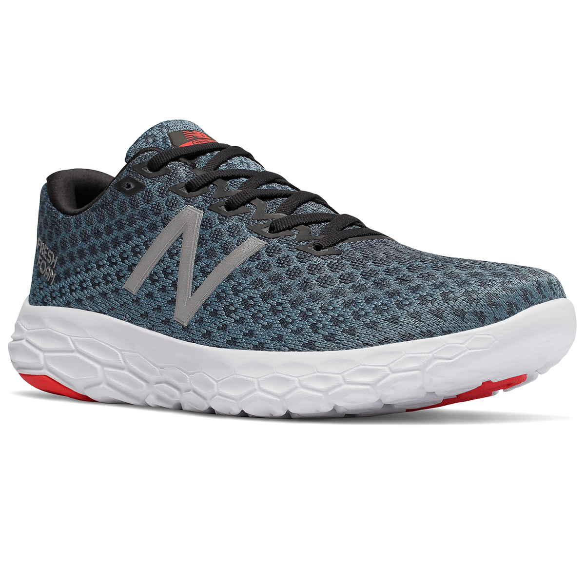 New Balance Men's Fresh Foam Beacon Running Shoes - Black, 12