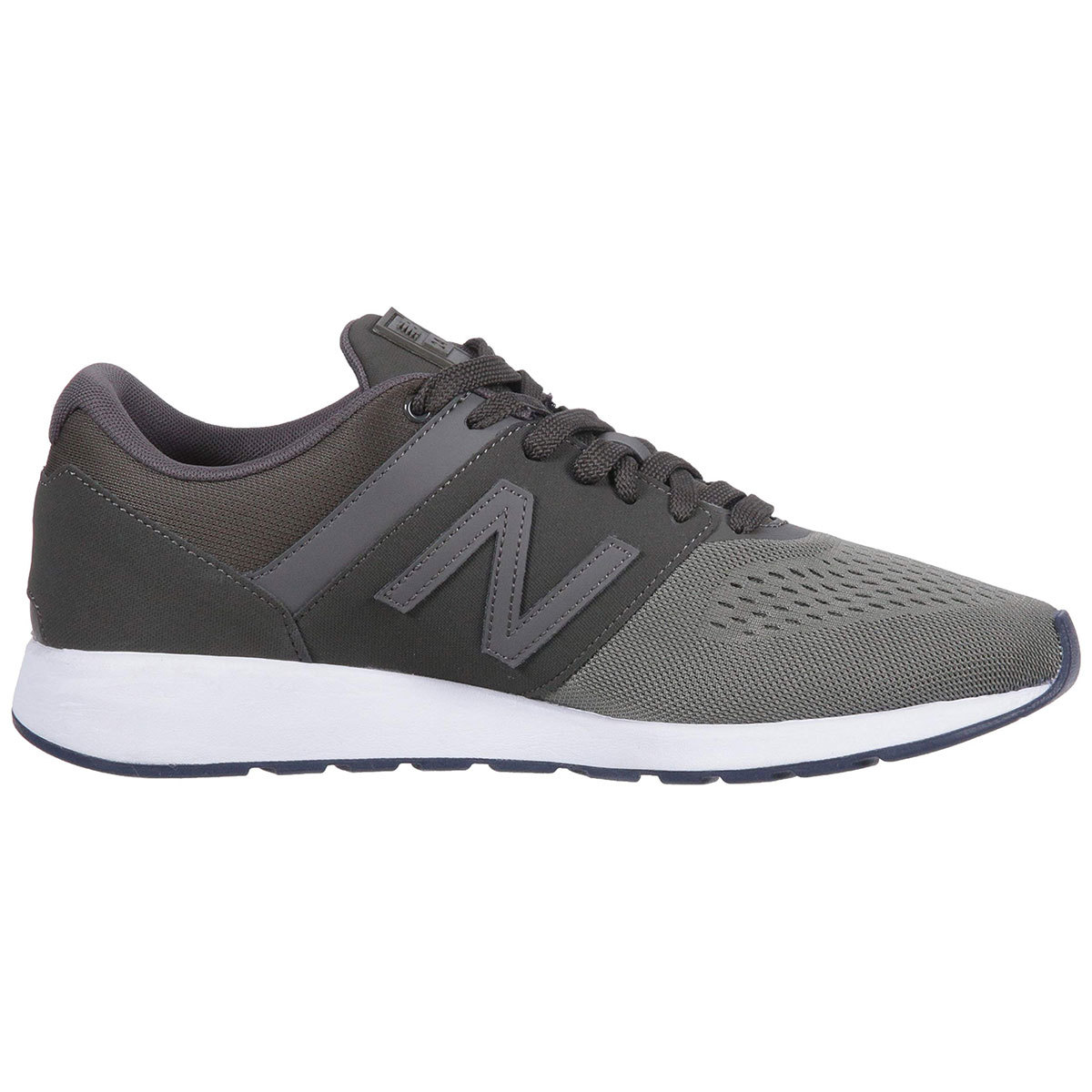 New Balance Men's 24 Textile Sneakers - Green, 12