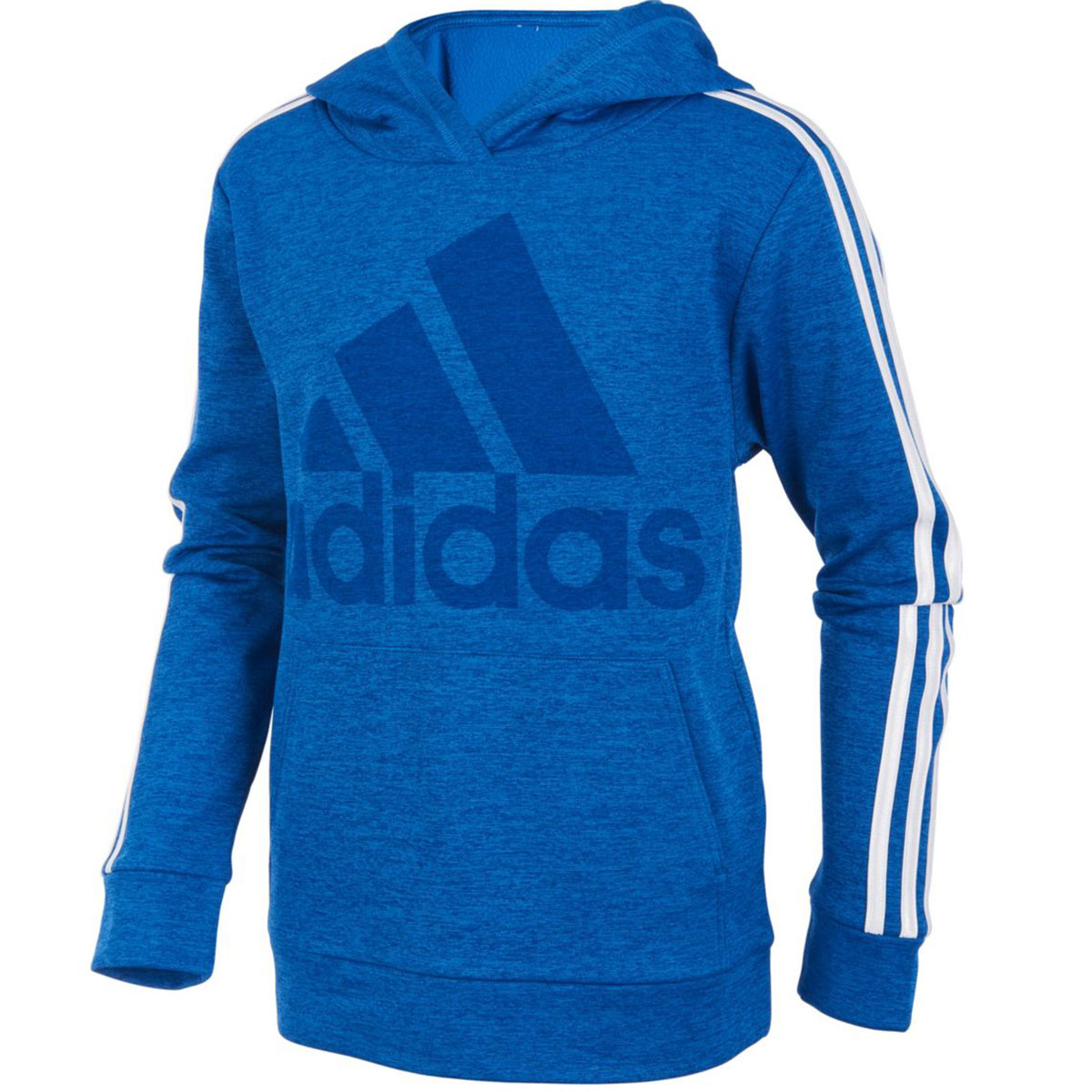 Adidas Big Boys' Classic Pullover Hoodie - Blue, S