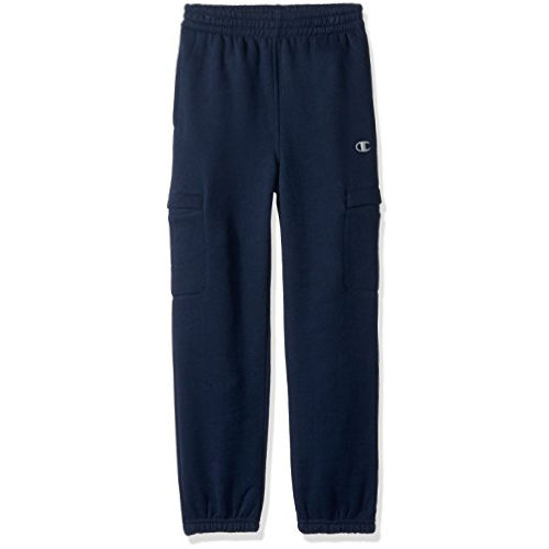 Champion Little Boys' Active Cargo Jogger Pants - Blue, 4