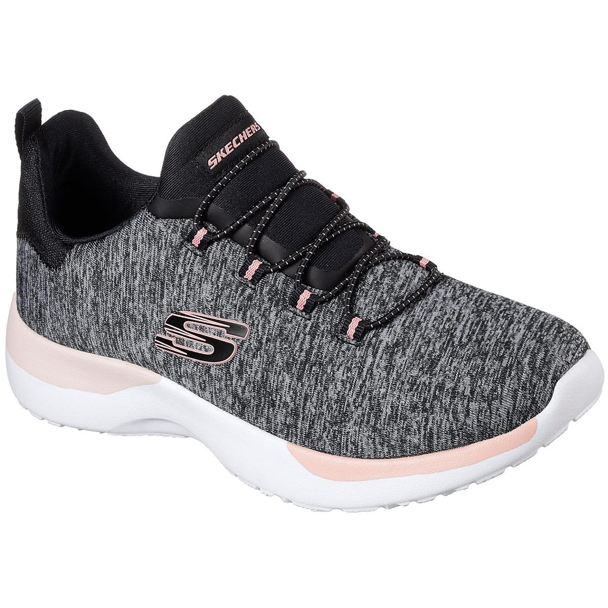 Skechers Women's Dynamight - Break-Through Sneakers - Black, 7