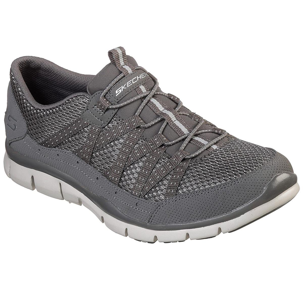 """Skechers Women's Gratis A """" Strolling Sneakers - Black, 7.5"""