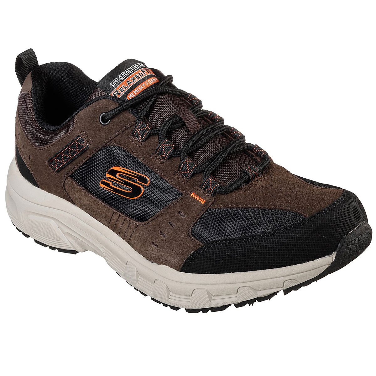 Skechers Men's Relaxed Fit: Oak Canyon Sneakers, Wide - Brown, 9.5