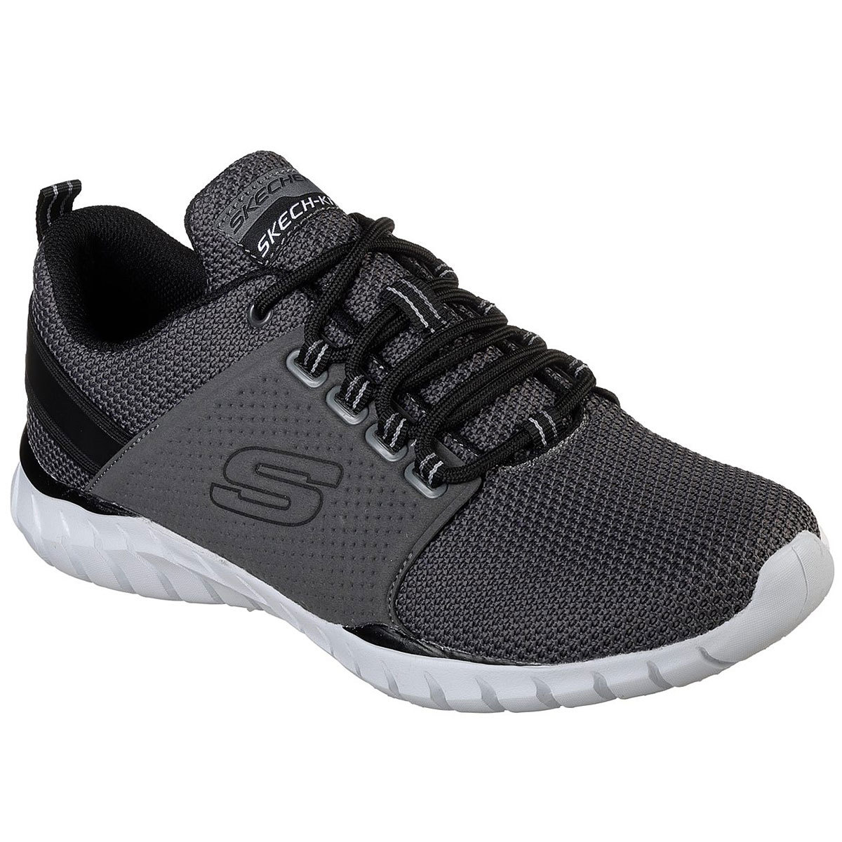 "Skechers Men's Overhaul A "" Primba Sneakers - Black, 13"
