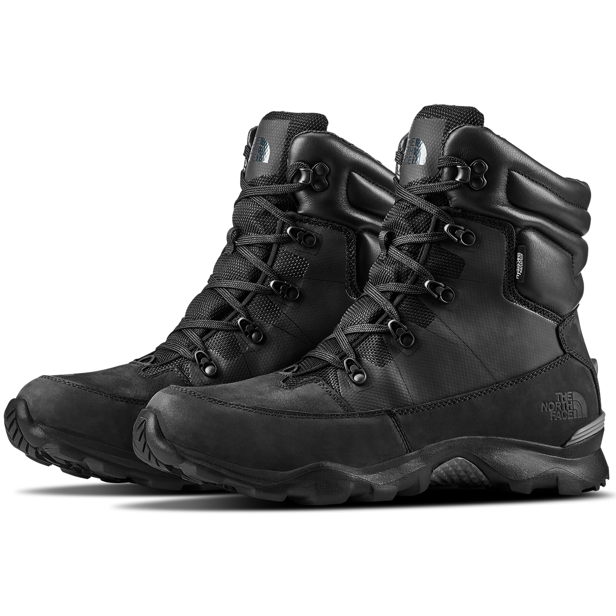 The North Face Men's Thermoball Lifty 400 Waterproof Insulated Winter Boots - Black, 10