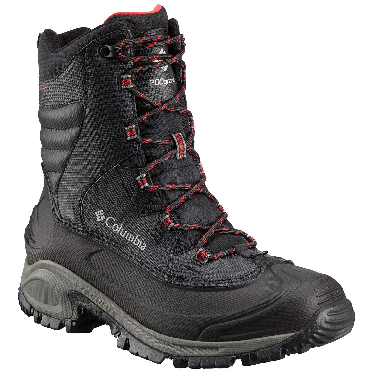 Columbia Men's Bugaboot Iii Waterproof Insulated Storm Boots, Wide - Black, 13