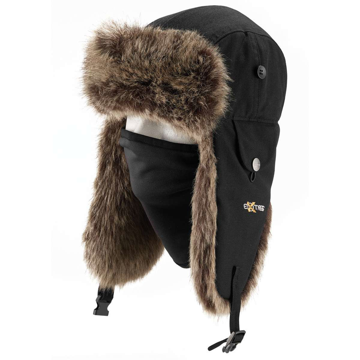 Carhartt Men's Trapper Hat - Black, L/XL