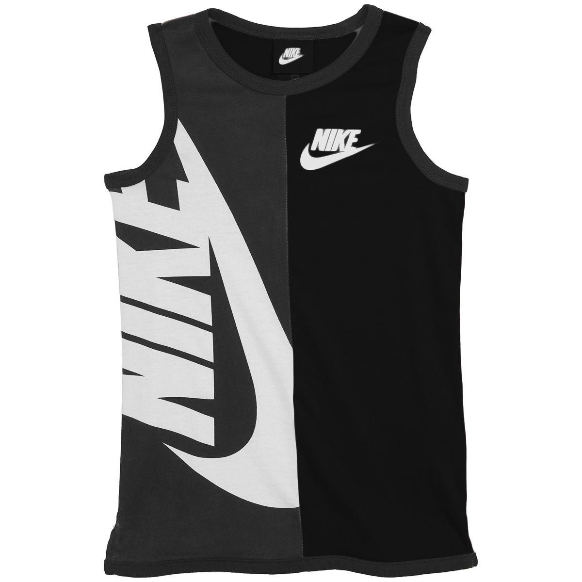 Nike Little Boys' Nsw Graphic Tank Top - Black, 5