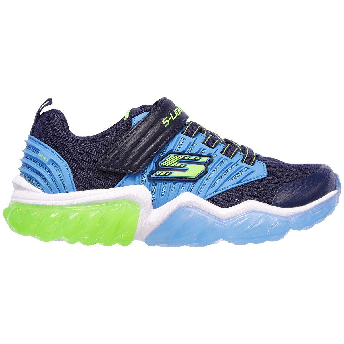 Skechers Boys' S Lights: Rapid Flash Sneakers - Blue, 1