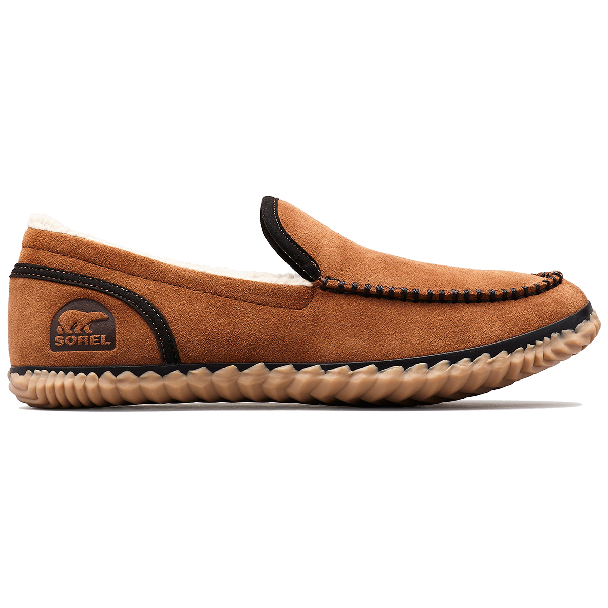 Sorel Men's Sorel Dude Moc Slippers - Brown, 13