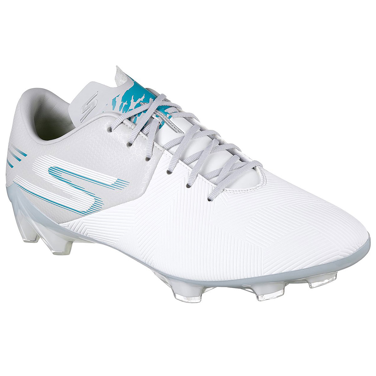 Skechers Men's Reflex Soccer Cleat - White, 12
