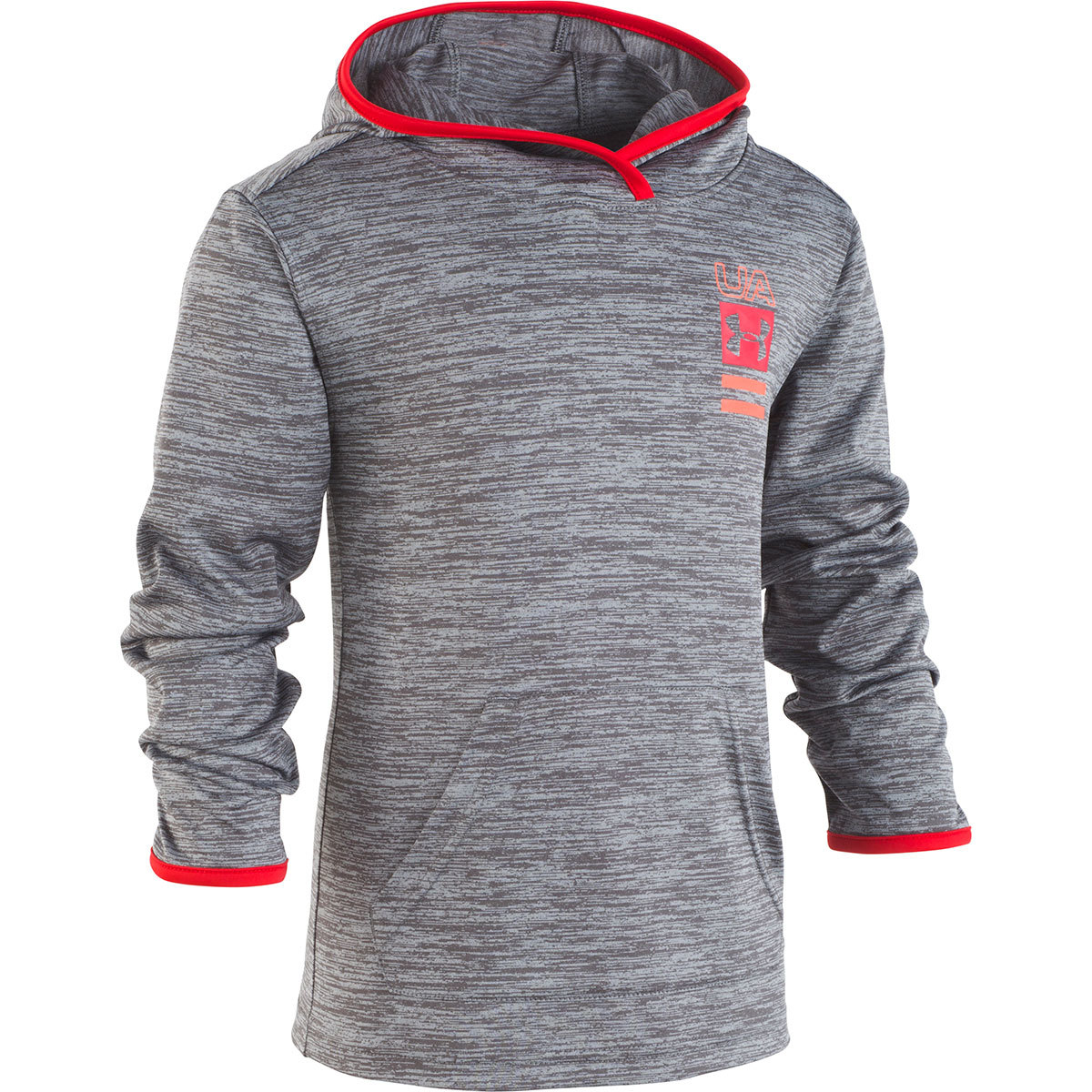 Under Armour Little Boys' Twist Double Vision Pullover Hoodie - Black, 6