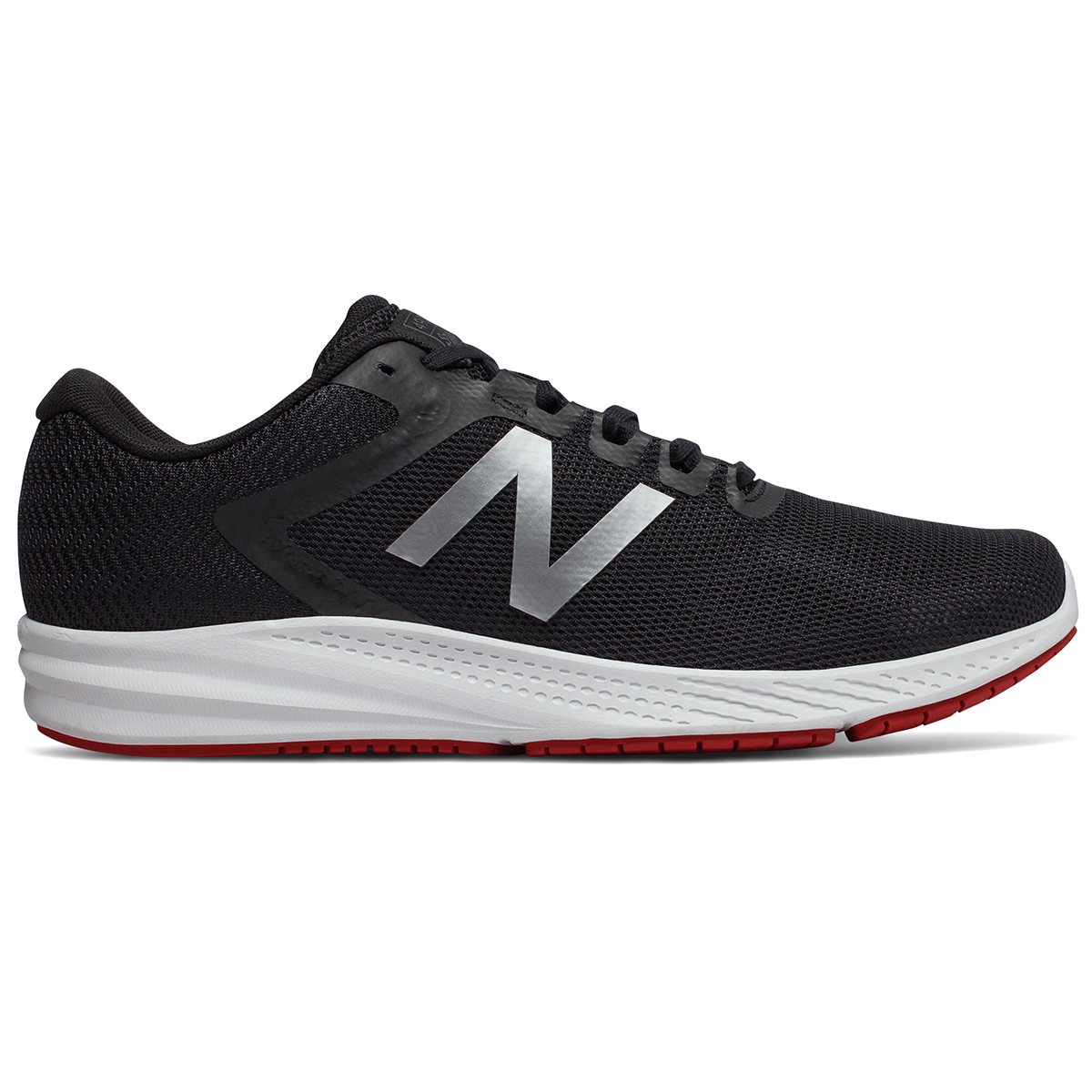 New Balance Men's 490V6 Running Shoes, Wide - Black, 8.5