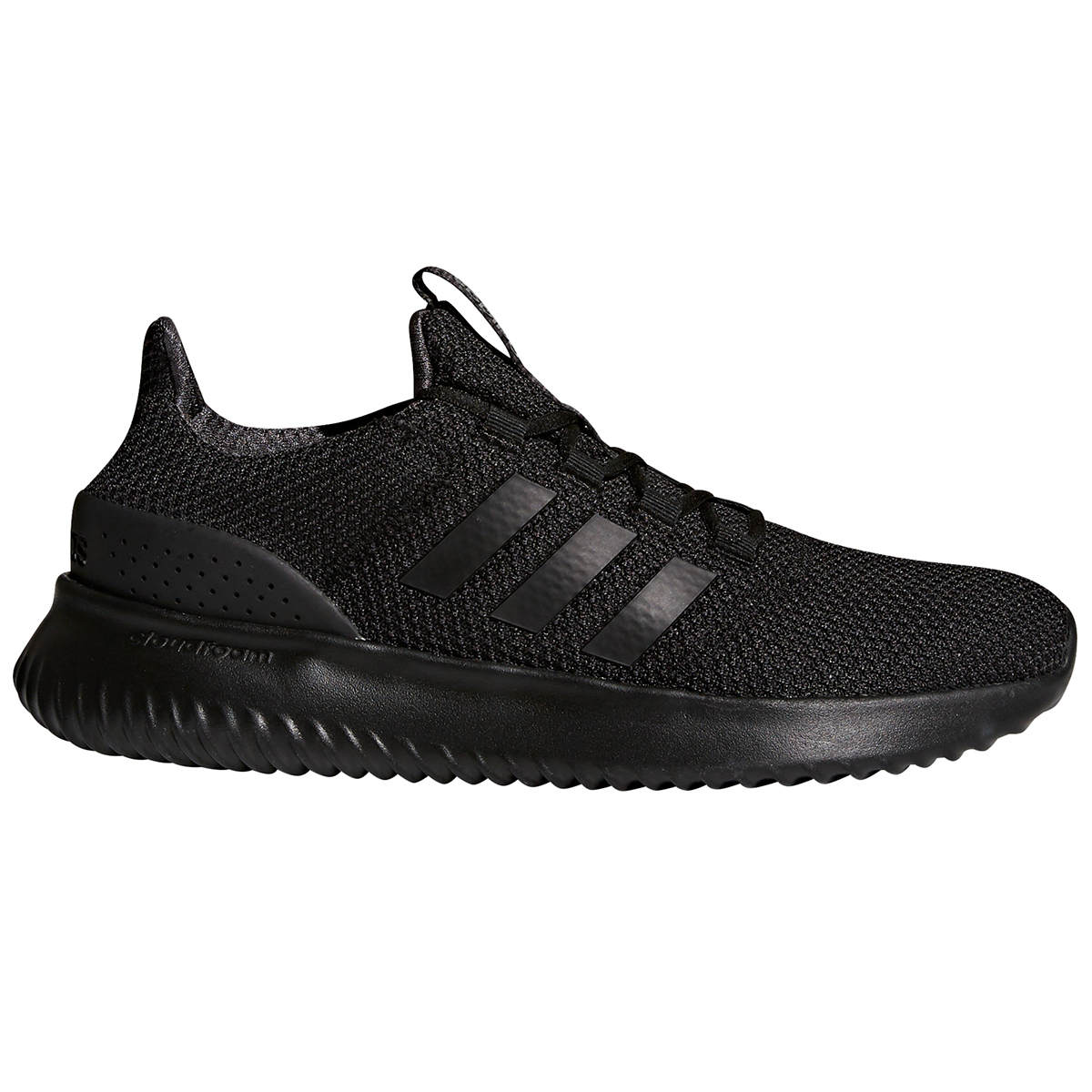 Adidas Men's Cloudfoam Ultimate Running Shoes - Black, 11.5