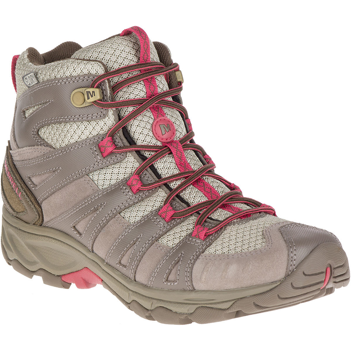Merrell Women's Avian Light 2 Ventilator Mid Waterproof Hiking Boots - Brown, 8