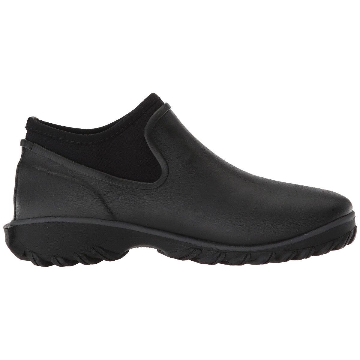 Bogs Women's Sauvie Chelsea Waterproof Insulated Storm Shoes - Black, 9
