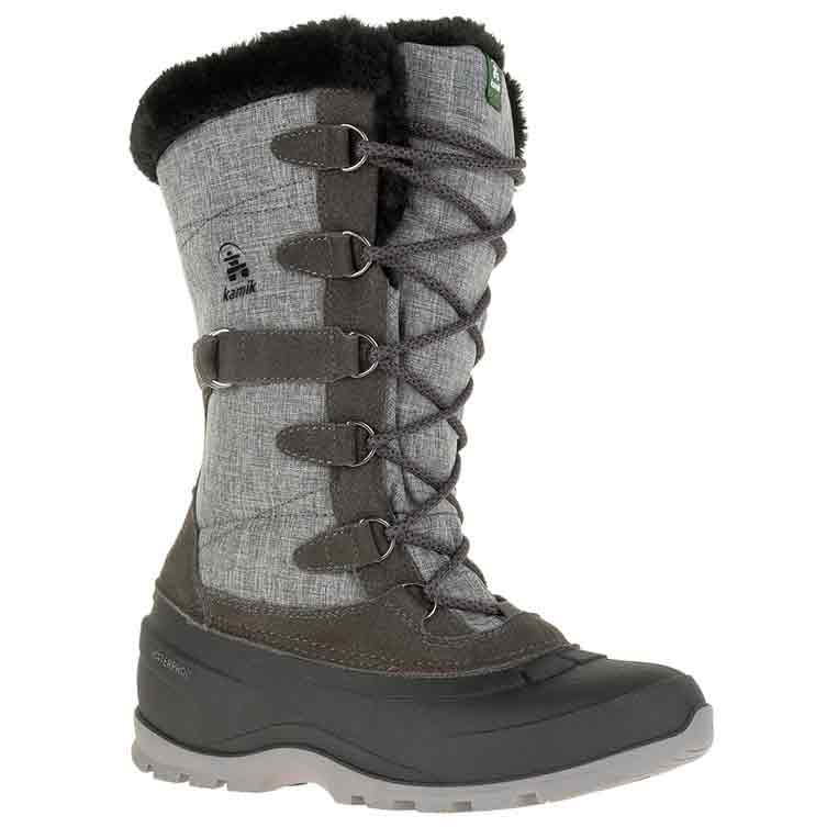Kamik Women's Snovalley2 Waterproof Insulated Storm Boots - Black, 7