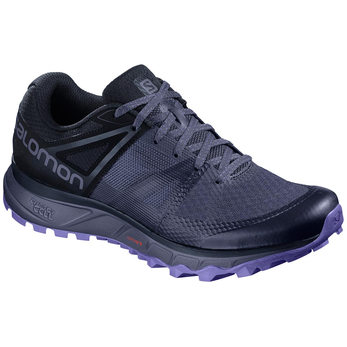Salomon Women's Trailster Trail Running Shoes - Blue, 9