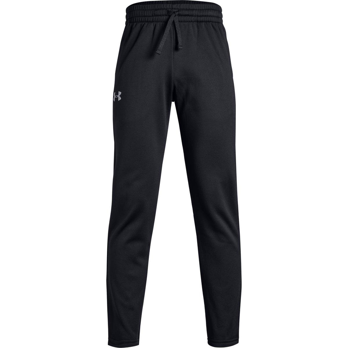 Under Armour Big Boys' Armour Fleece Pants - Black, S