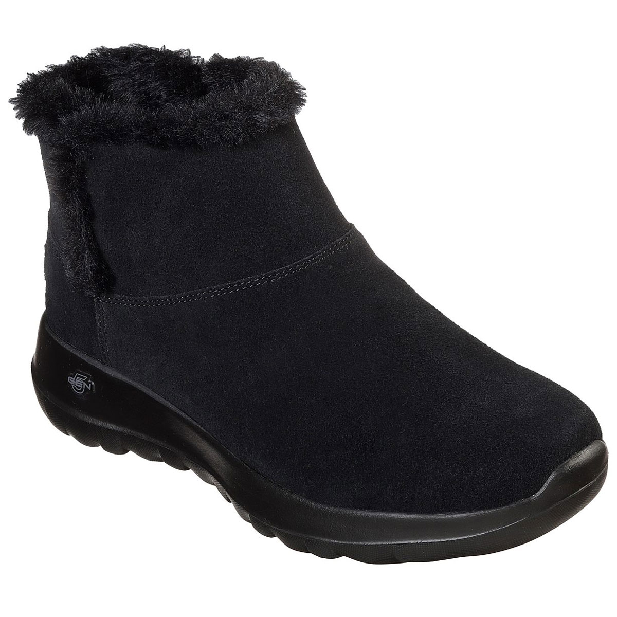 Skechers Women's On The Go Joy - Bundle Up Boots - Black, 6.5