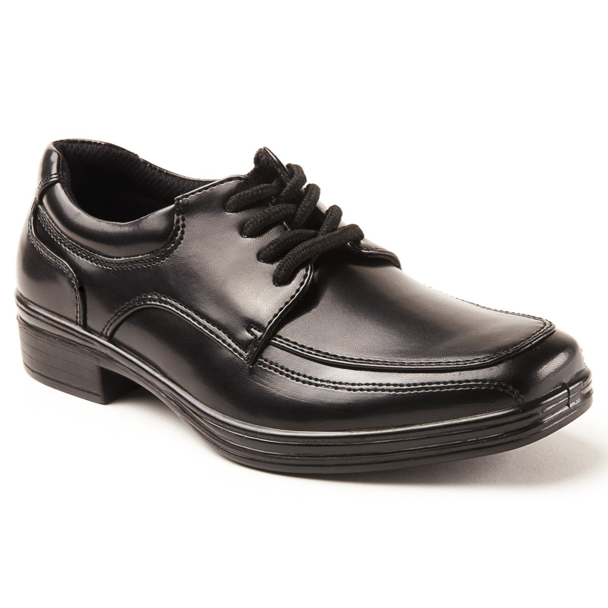 Deer Stags Boys' Sharp Shoe - Black, 3