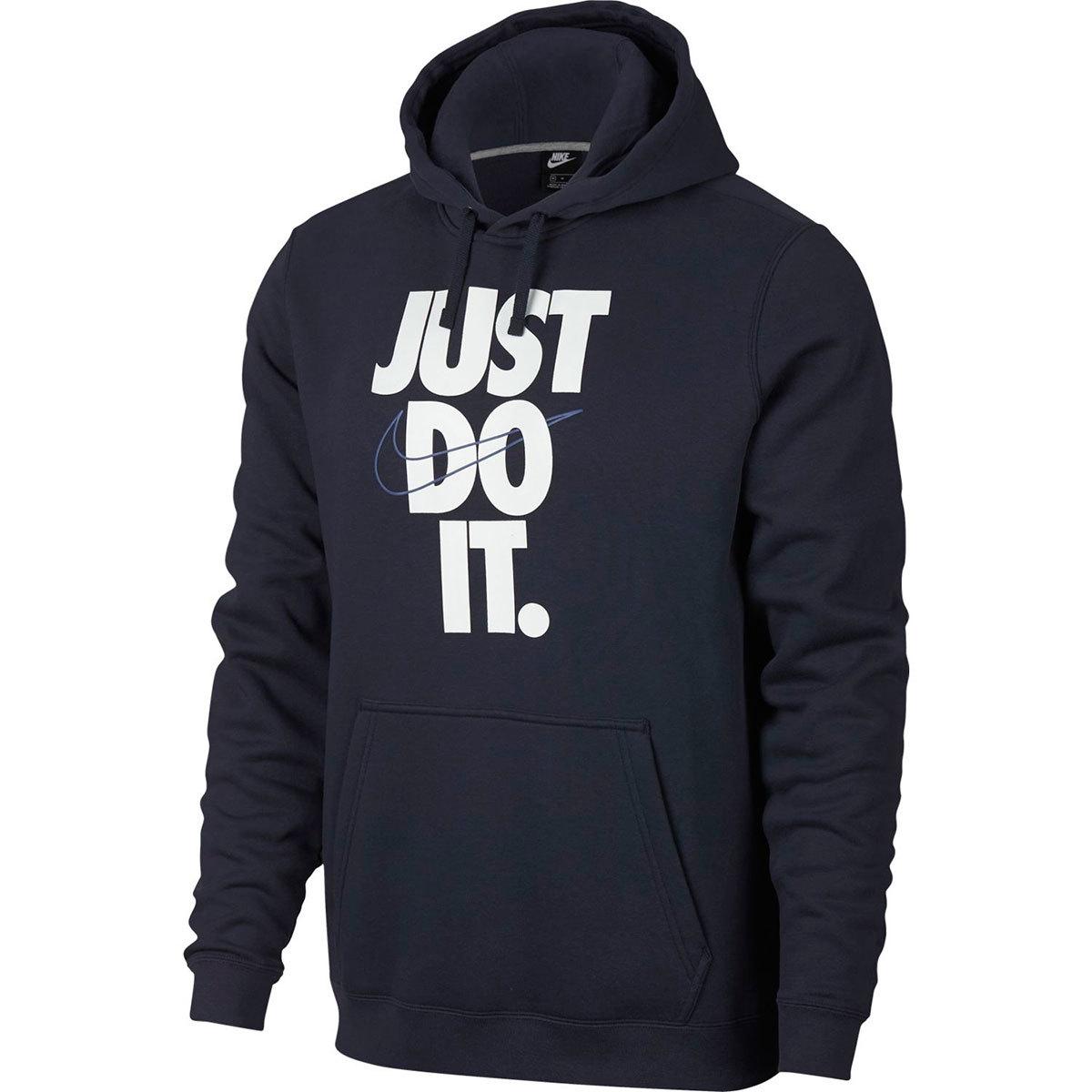 Nike Men's Nsw Fleece Hbr Pullover Hoodie - Blue, XXL