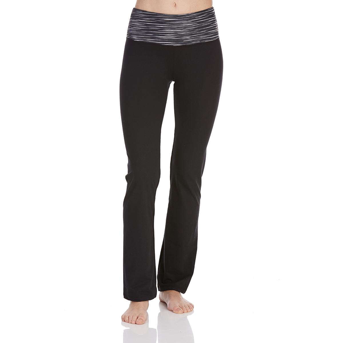 Bally Women's Barely Flare Yoga Pants - Black, S
