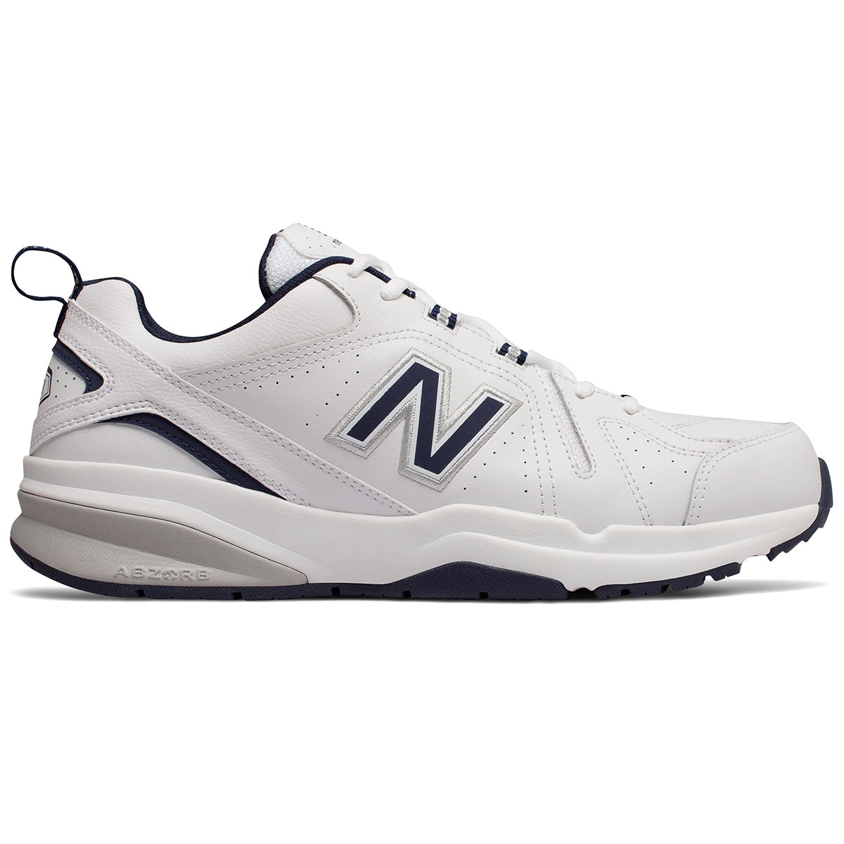 New Balance Men's 608V5 Training Shoes, Extra Wide - White, 10.5