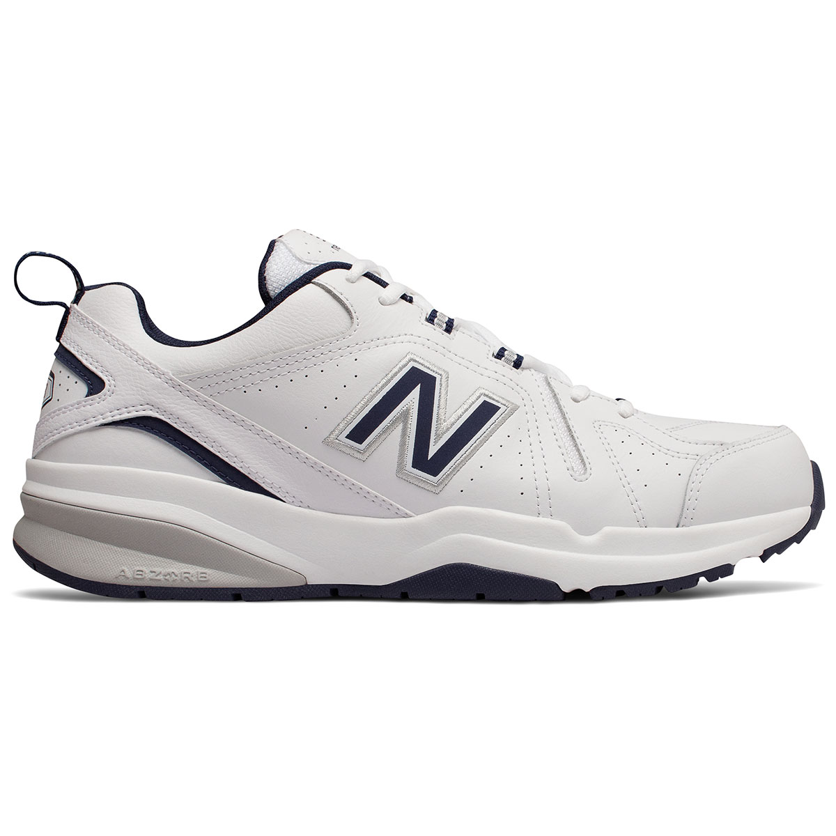 New Balance Men's 608V5 Training Shoes, Medium - White, 7.5