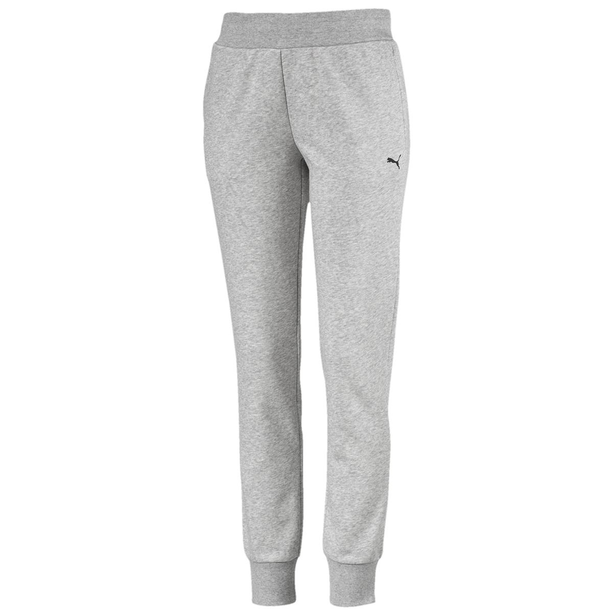 Puma Women's Essential Fleece Sweatpants - Black, S