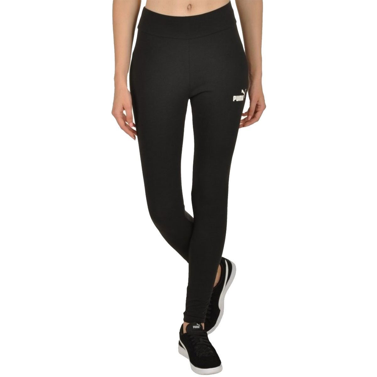 Puma Women's Essential Logo Leggings - Black, XL
