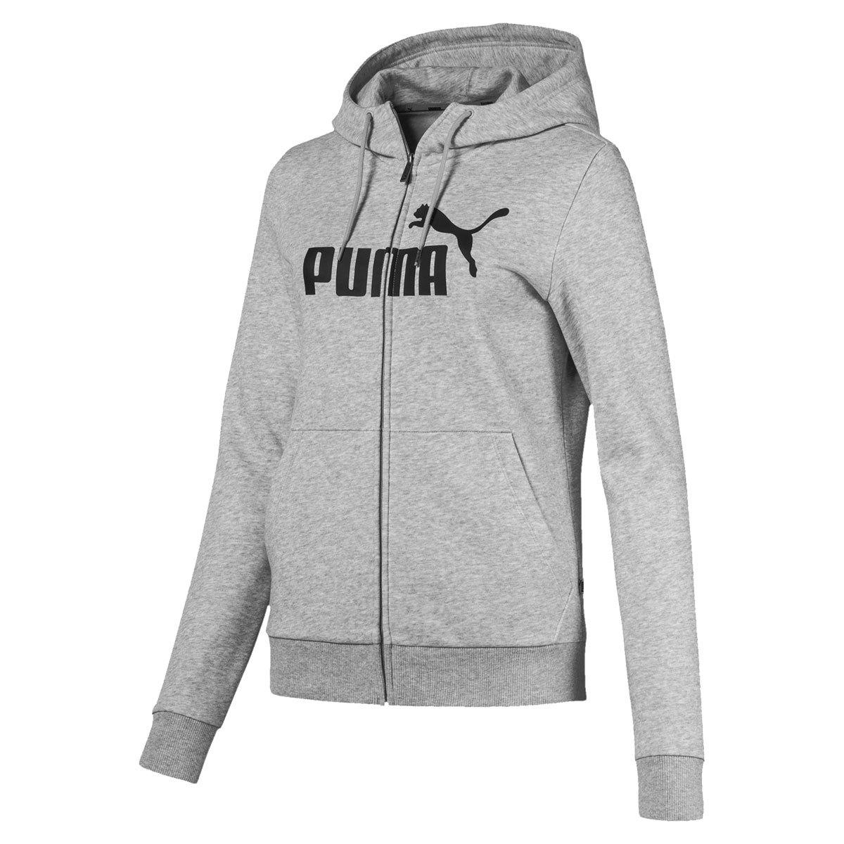 Puma Women's Essentials Fleece Pullover Hoodie - Black, S