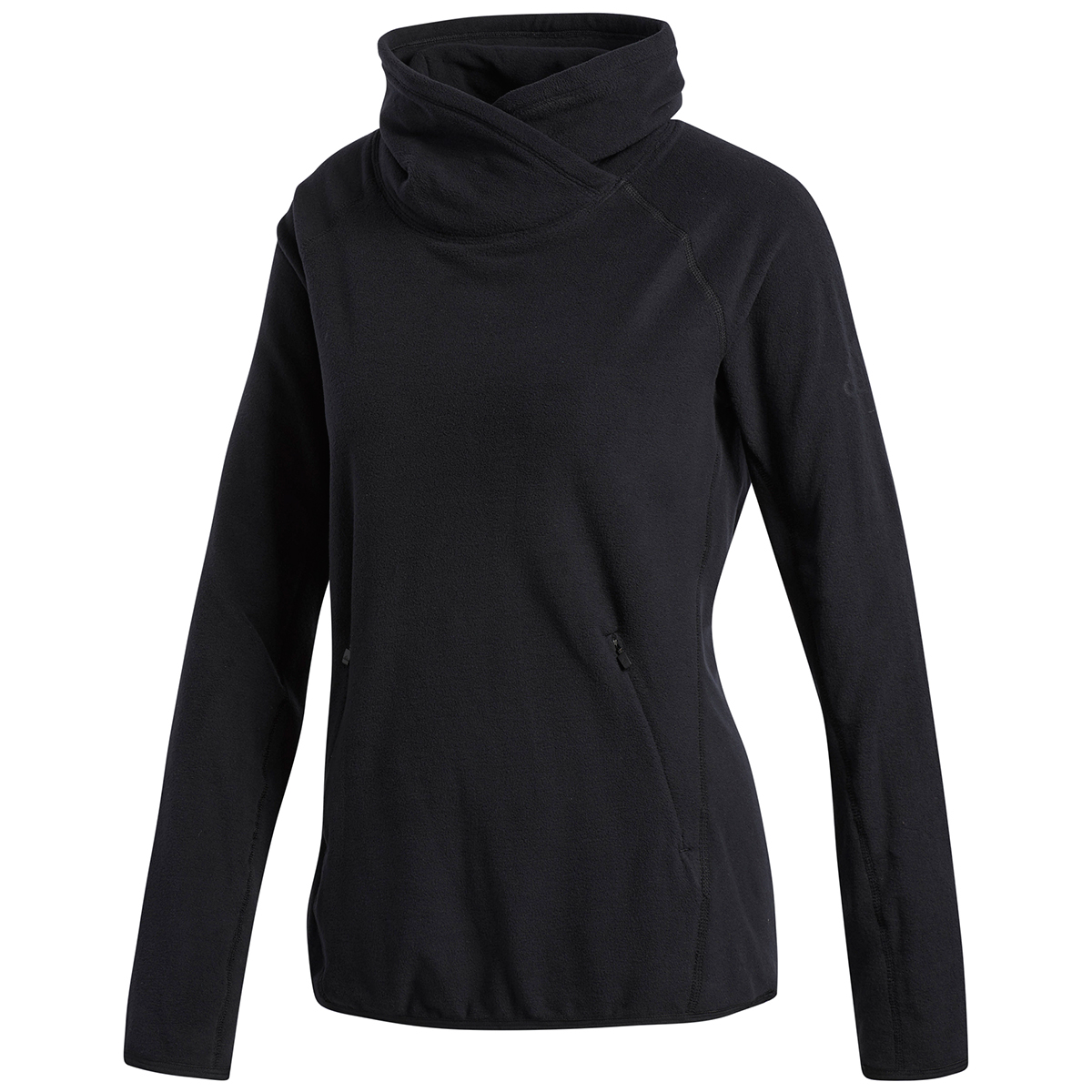 Adidas Women's Cover-Up Training Pullover - Black, L