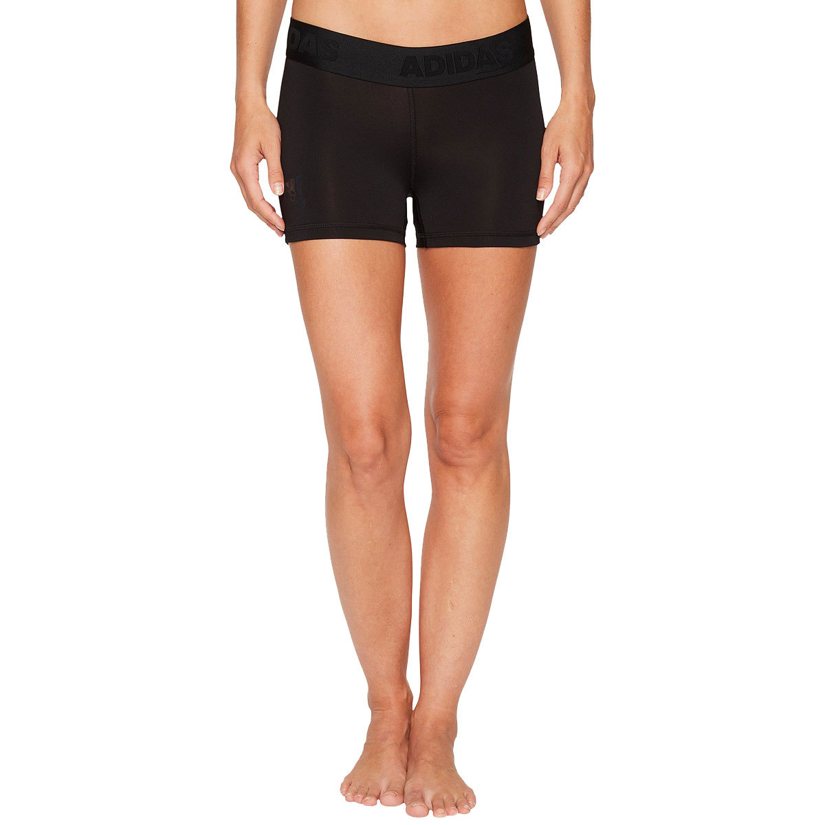 Adidas Women's Alphaskin Sport Short Tights - Black, XL