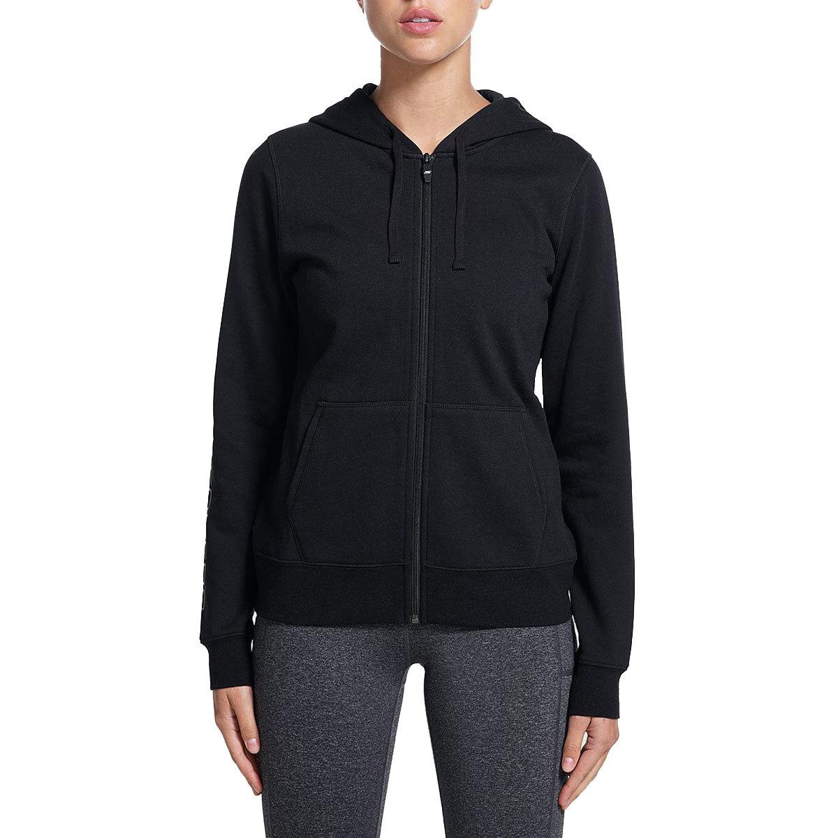 Skechers Women's Slumber Ii Zip Hoodie - Black, XL
