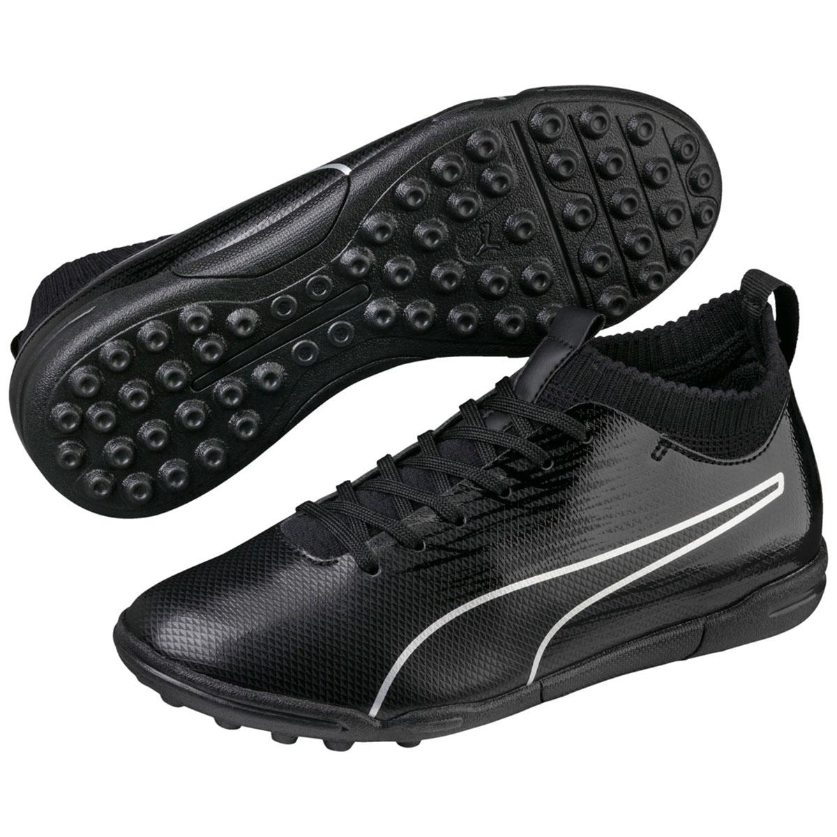 Puma Kids' Evoknit Ftb Ii Tt Jr Soccer Cleats - Black, 2