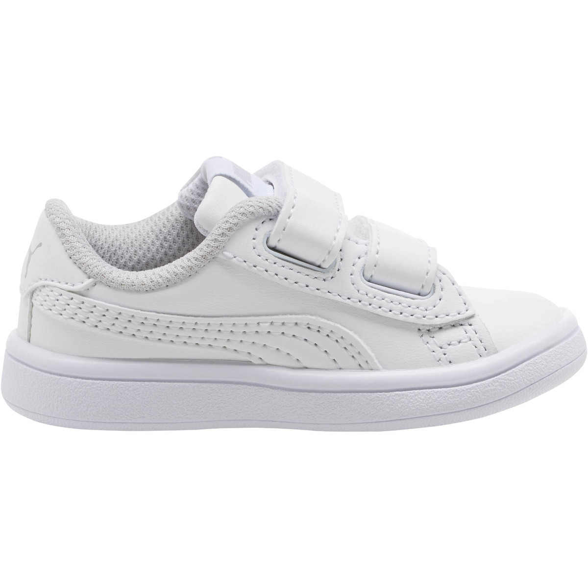 Puma Toddler Boys' Smash V2 Lv Sneakers - White, 6